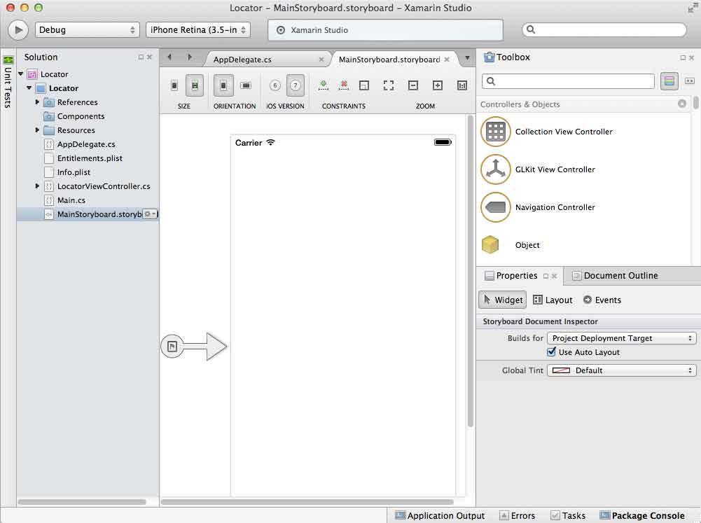 iOS Map App Tutorial in C# using Xamarin   Arnold's Portfolio